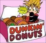Dunkin' for Donuts by Celesma