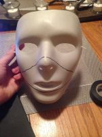 Scarecrow Mask Tutorial Part 1 by ParanormalArtist