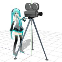 MMD Miku's Camera by Trackdancer