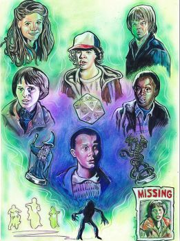 STRANGER THINGS by DannyNicholas