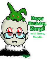 Happy Birthday to Zurgi by Ariniel