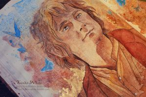 Bilbo (close up) by Kinko-White