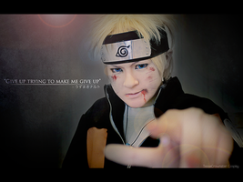 Give up - Naruto Cosplay by TessaCrownster
