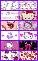 Hello Kitty Pattern 1 by krystalamber2009