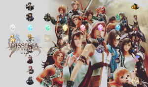 Dissidia 012 PS3 Theme by RaijinkenXIII