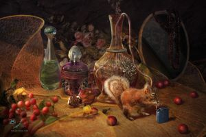 Autumn Scents. Diptych, part 2 by samaposebe