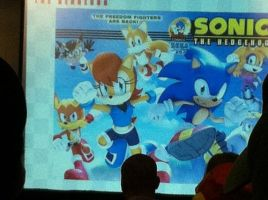 Sonic News and Notes From NYCC 2013 (pic 2) by bvw1979