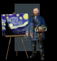 vincent van gogh by nightwing1975