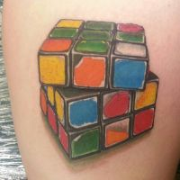 cube by justinstattoos