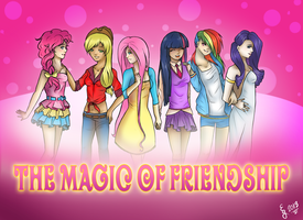 The Magic of Friendship by HolyFudginCrackpots