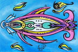 Mother fish by retransmission