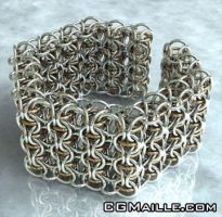 Staggered CIR Cuff - CG by MaillerPhong