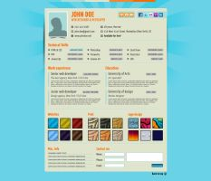 Your No1 Online Resume- Bonus: iPhone,Pdf Theme by GrapicRiver