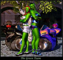 The Green Team by ExGemini