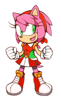 Makeover - Amy Rose by Cylent-Nite