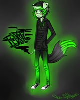 Toxic fanart eue by DrStatic