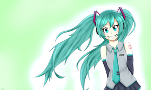 Hatsune Miku's birthday! by Linahedgehog