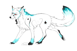 White Wolf Adoptable :: Closed by Love-Adopts