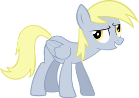 Serious Derpy by Bill5125