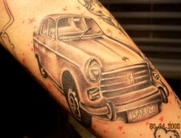 tattoo by joshua by arty147