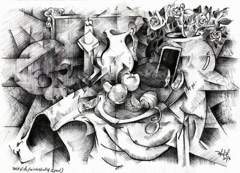 2013 Still Life Sketch by pheelix-dot-com