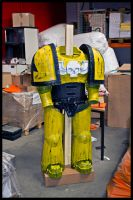 Imperial Fist Armor 95% by ArmorCorpCustoms