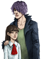 Garry and Ib by Leon9606