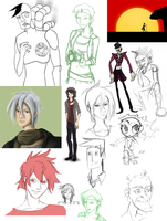 Sketchdump 20-05-11 by Curzec