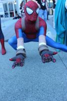 wondercon 2015 mangaverse spider man by antshadow13