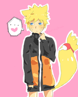 Uke Naruto by strawberrybubble-tea