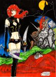 Bloody Red Venus cover 1 small by SPECTRUM-the-dauber