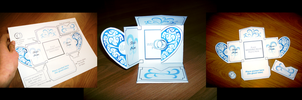 Crazy Wedding Invite Design by Gaddia