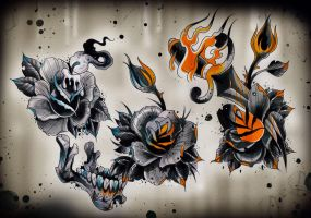 Dark flash sheet nr1 by WillemXSM