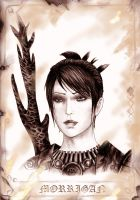 Dragon age Morrigan by Agregor