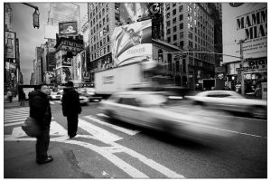 NYC Rush II by billysphoto