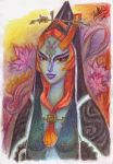 Floral Midna by StellaB