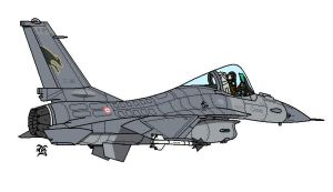 Italian_Air_Force_F16A by darthpandanl