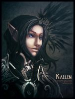 COMMISSION: Kaelen by Starlitdragon