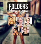 ICONS: Folders Miley Cyrus by ForeverYoung320