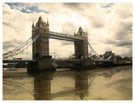 Reflections of London by WeirdoGal