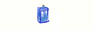 A Tardis by Yamicat