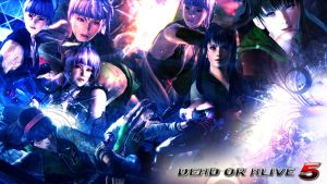 DEAD OR ALIVE 5 ~ HITOMI and AYANE WALLPAPER by Leifang12