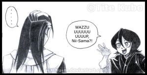 BLEACH - Wazzuping RUKIA by Washu-M