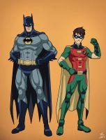 The Dynamic Duo by phil-cho