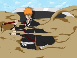 Ichigo's new Shinigami Form by Deadly-Snake