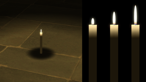 Lit Candle for XPS by dasliebesverbot