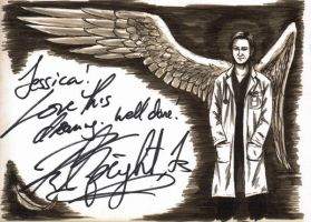 Richard's Autograph Vancon 2011 by PatchedFox