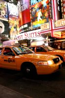 NYC Taxi by darkjohn117