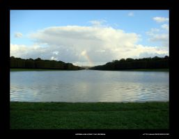 Versailles under the rainbow by mercy