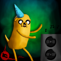 Party Time Jake by DoubleDandE